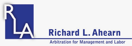 Rich Ahearn Arbitration
